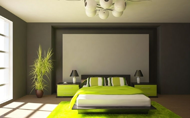 Emejing Chambre A Coucher Gris Et Vert Photos - Yourmentor.info ...