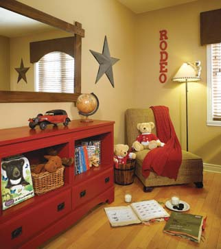 Chambre deco western for Chambre western