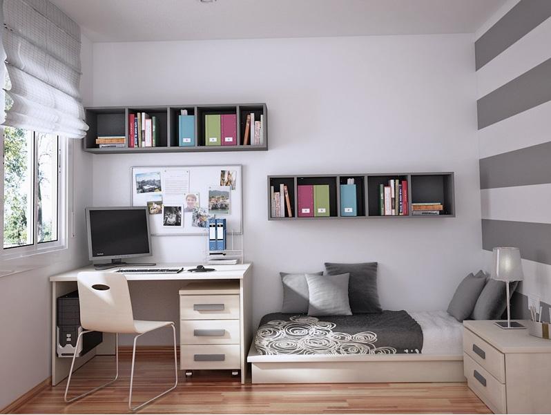 Best Chambre Grise Et Blanche Ado Photos - House Design ...