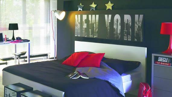 deco chambre d ado fille new york
