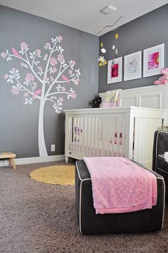 deco chambre fille rose poudre visuel 7. Black Bedroom Furniture Sets. Home Design Ideas