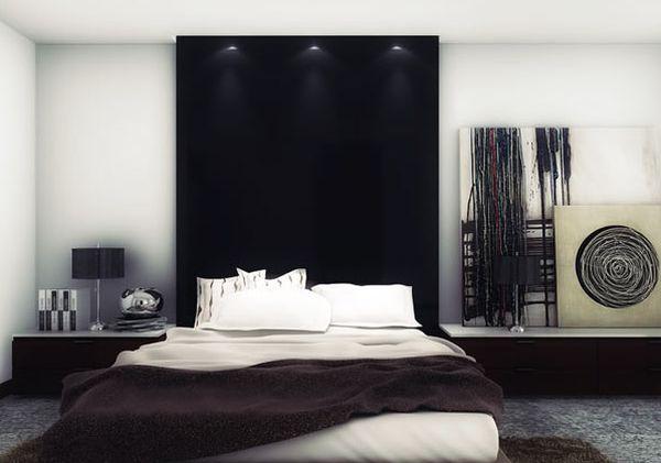 Deco Chambre Noir Et Blanc - Visuel #2