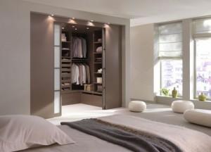 deco chambre parentale avec salle bain dressing - visuel #7