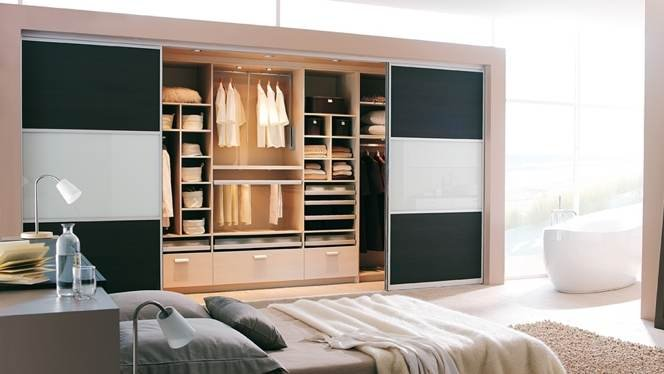 deco chambre parentale avec salle bain dressing visuel 8. Black Bedroom Furniture Sets. Home Design Ideas