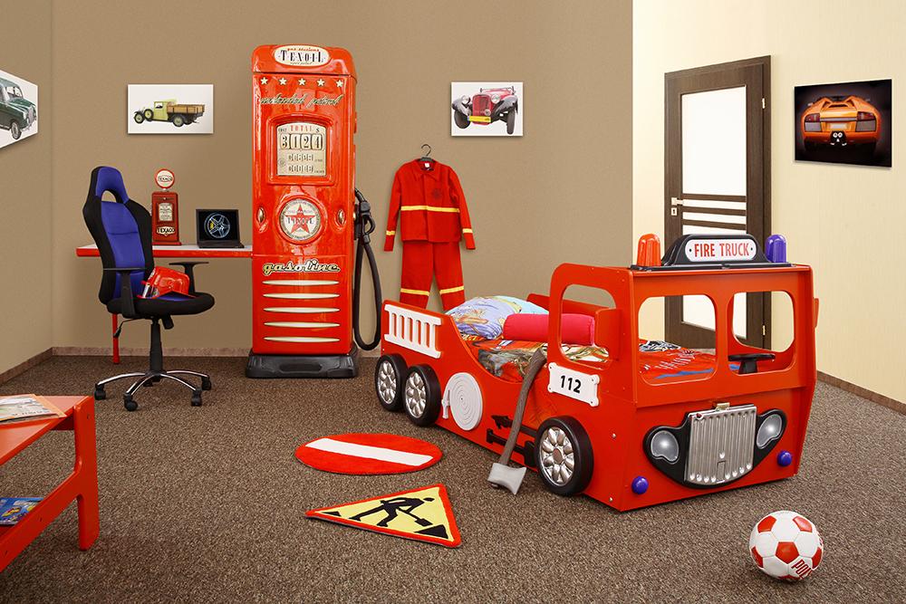 deco chambre theme pompier   visuel #7
