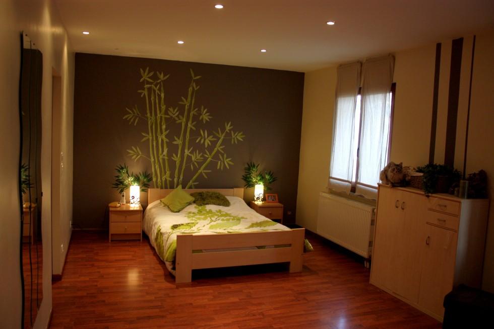 Decoration Chambre Zen Bambou