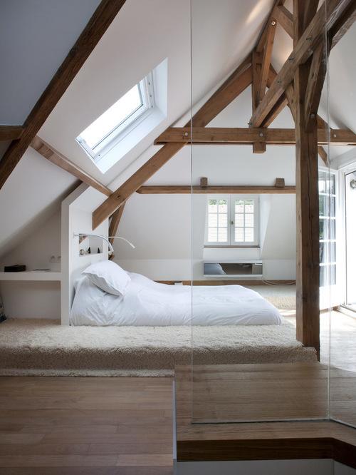 Deco d une chambre mansardee for Decoration d une chambre adulte