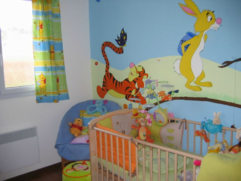 Idee deco chambre winnie l ourson 072039 la meilleure conception d 39 inspiration - Chambre bebe winnie lourson sauthon ...