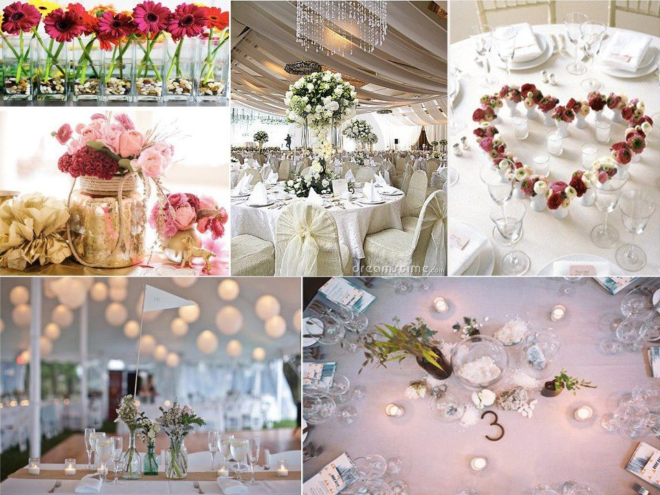 Decoration Table De Mariage A Faire Soi Meme