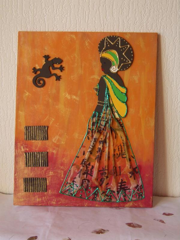 Decoration africaine a faire soi meme visuel 5 - Decoration en papier a faire soi meme ...
