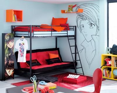 decoration chambre ado fly visuel 8. Black Bedroom Furniture Sets. Home Design Ideas