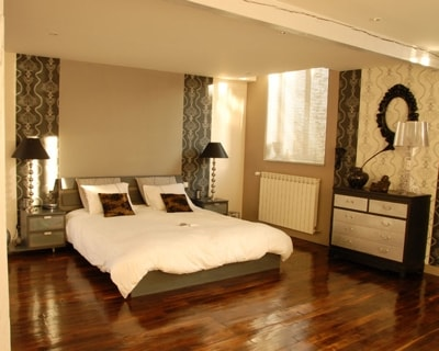 decoration chambre avec parquet visuel 3. Black Bedroom Furniture Sets. Home Design Ideas