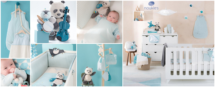 Decoration chambre bebe noukies for Chambre bebe noukies