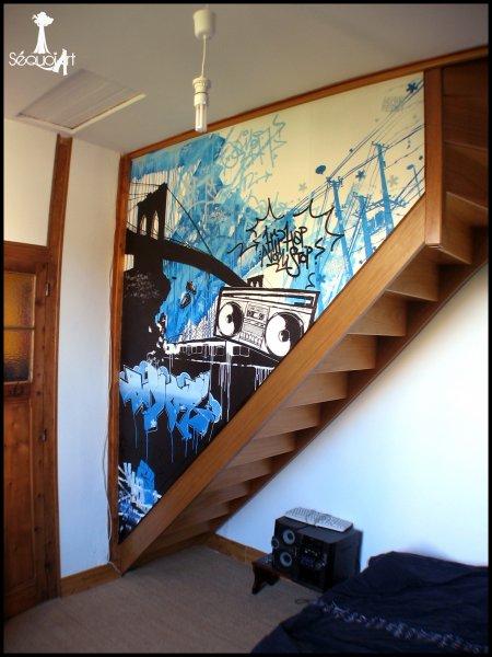 Chambre Fille Hip Hop : Decoration chambre hip hop