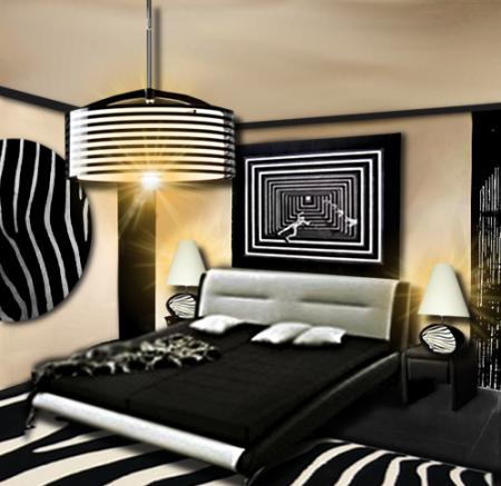 Decoration chambre interieur visuel 8 for Decoration interieur chambre