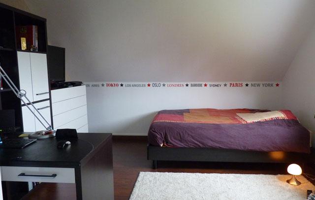 decoration chambre jeune homme
