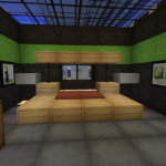 decoration chambre minecraft. Black Bedroom Furniture Sets. Home Design Ideas
