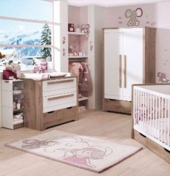 decoration chambre new baby visuel 5. Black Bedroom Furniture Sets. Home Design Ideas