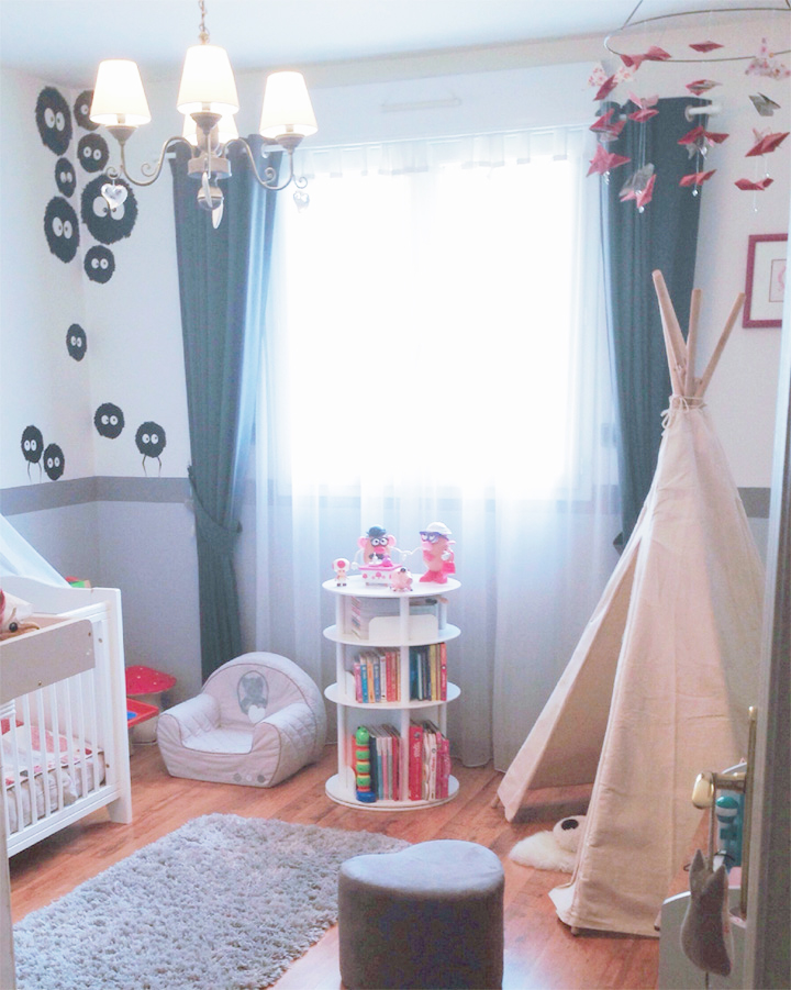 tipi chambre petite fille avec des id es int ressantes pour la conception de la. Black Bedroom Furniture Sets. Home Design Ideas