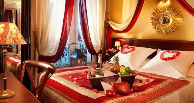 Decoration Chambre Pour La Saint Valentin Visuel 1