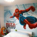 decoration chambre spiderman. Black Bedroom Furniture Sets. Home Design Ideas