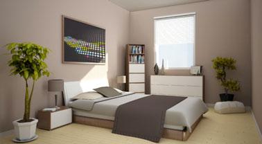 Decoration chambre taupe et beige visuel 7 for Chambre taupe et beige
