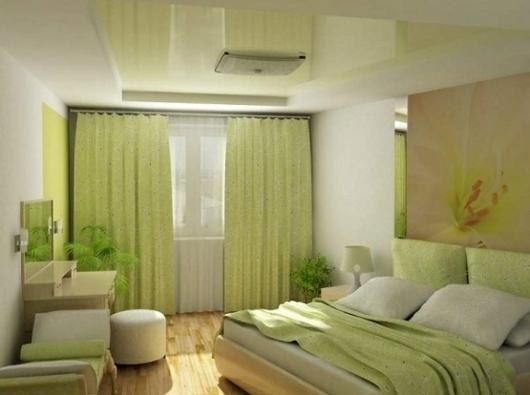 decoration chambre verte et blanc - visuel #9