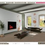 decoration chambre virtuel