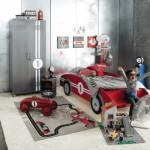 decoration chambre voiture de course