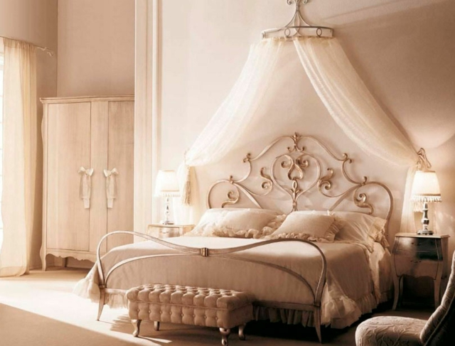 decoration de chambre a coucher romantique - visuel #6