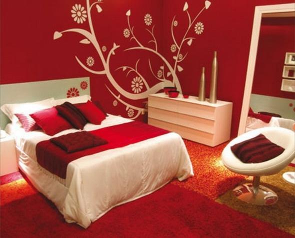 decoration de chambre a coucher romantique - visuel #8