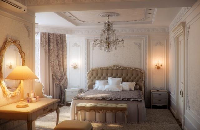 decoration de chambre a coucher romantique. Black Bedroom Furniture Sets. Home Design Ideas