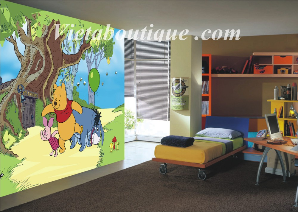 Decoration de chambre winnie l ourson for Chambre winnie l ourson