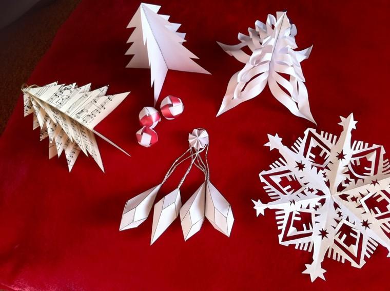 Decoration de noel a fabriquer en papier visuel 2 for Fabriquer des decorations de noel