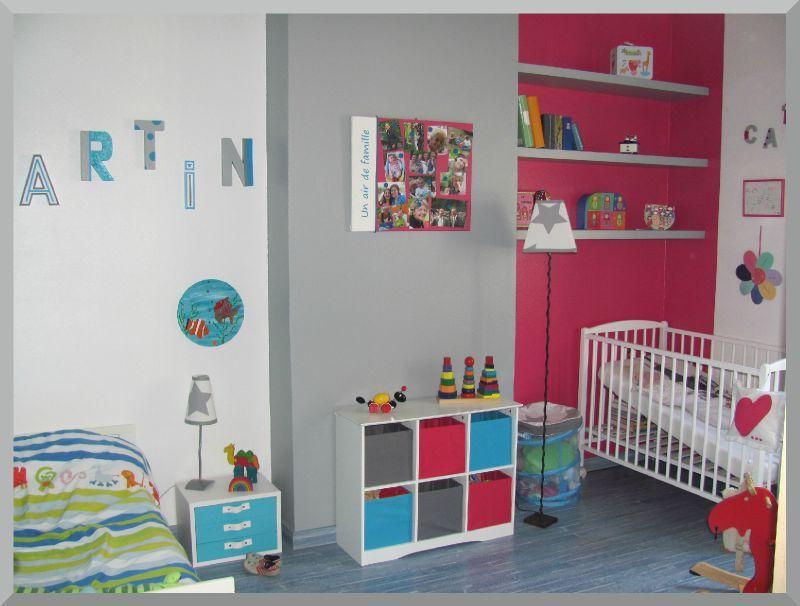 Emejing Deco Chambre Mixte Fille Garcon Pictures - Design Trends ...