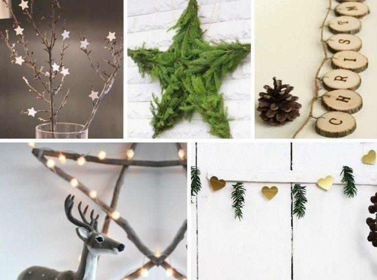 Decoration De Noel Naturel A Faire Soi Meme | S'Éclairer