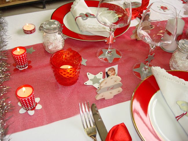 Faire soi meme sa decoration de table de noel - Idee deco table noel a faire soi meme ...