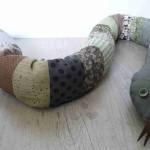 faire un doudou serpent