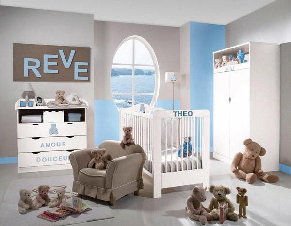 idee deco chambre bebe garcon - visuel #7