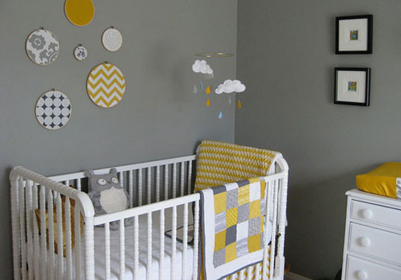 Beautiful Idee Deco Chambre Bebe Grise Contemporary - Awesome ...