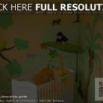 idee deco chambre bebe safari