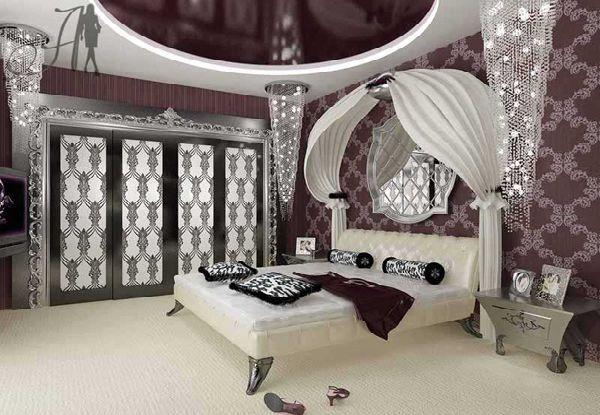 idee deco pour chambre glamour visuel 6. Black Bedroom Furniture Sets. Home Design Ideas