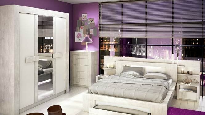 Idee deco pour chambre glamour for Idee deco pour chambre