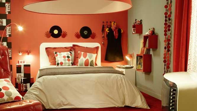 Idee deco pour chambre orange for Idee deco pour chambre