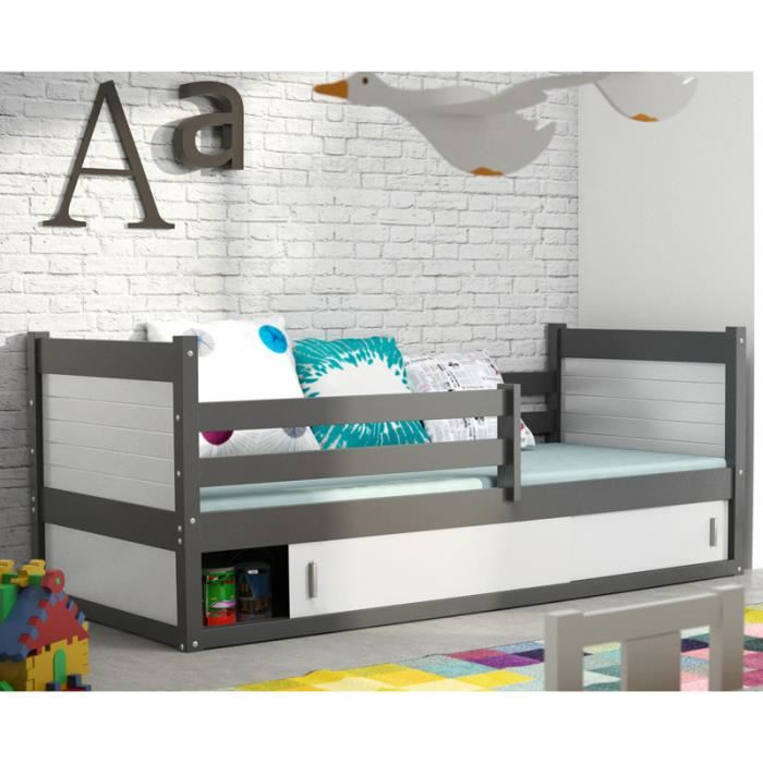lit garcon junior. Black Bedroom Furniture Sets. Home Design Ideas