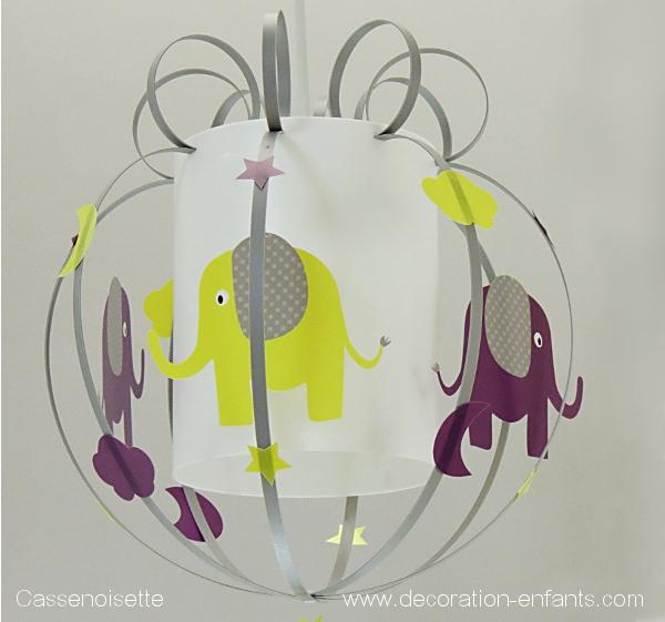Luminaire chambre bébé jungle - Idées de tricot gratuit