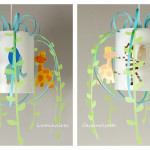 luminaire chambre bebe savane