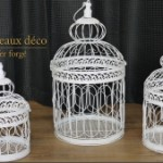 petite cage oiseaux decorative