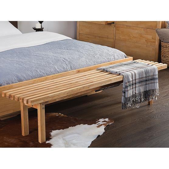 Bout de lit en bois visuel 8 for Bout de lit
