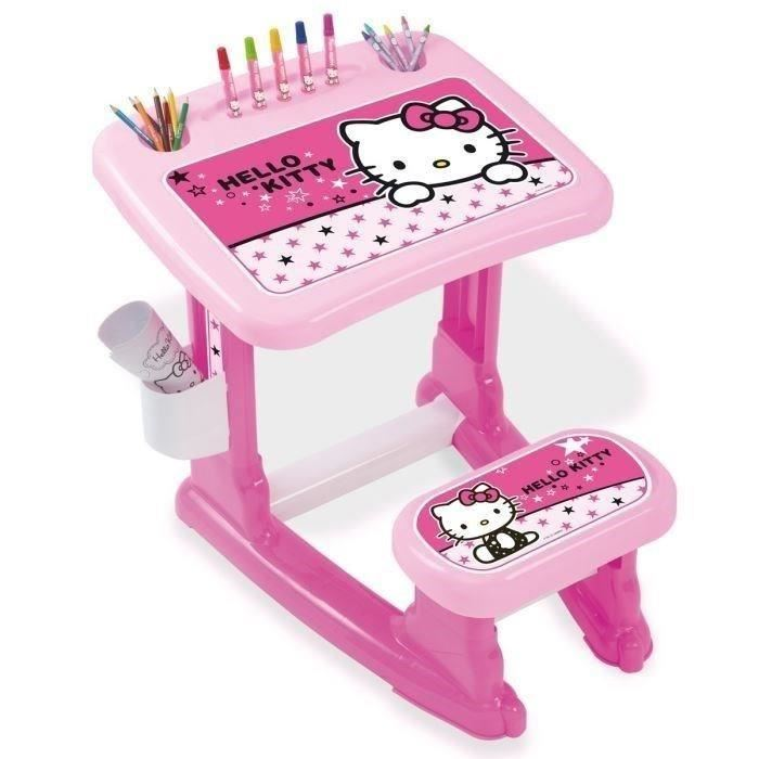 Bureau pour fille hello kitty visuel 4 for Bureau hello kitty